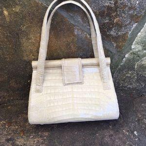 Vintage Nancy Gonzalez Crocodile Handbag